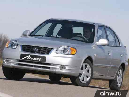Hyundai Accent II Хэтчбек 5 дв.