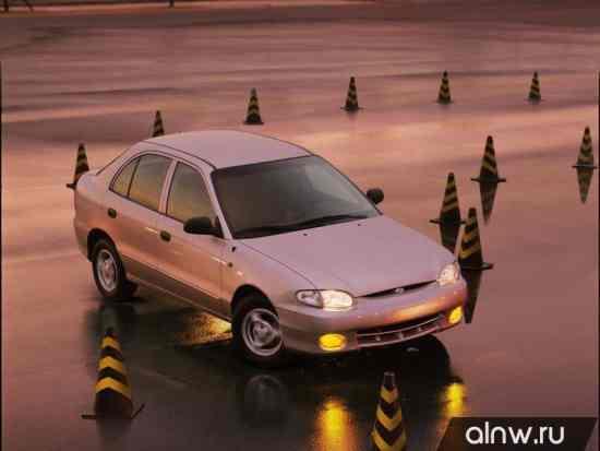 Инструкция по эксплуатации Hyundai Accent I Хэтчбек 5 дв.