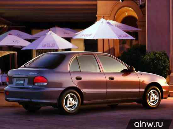 Каталог запасных частей Hyundai Accent I Хэтчбек 5 дв.