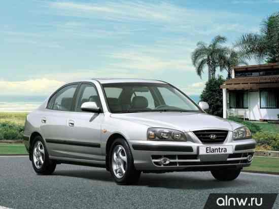 Каталог запасных частей Hyundai Elantra III (XD) Седан