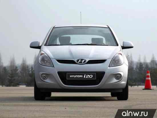 Каталог запасных частей Hyundai i20  Хэтчбек 3 дв.