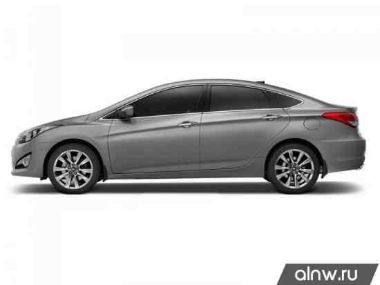 Каталог запасных частей Hyundai i40  Седан