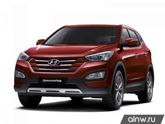 Руководство по ремонту Hyundai Santa Fe III Внедорожник 5 дв.