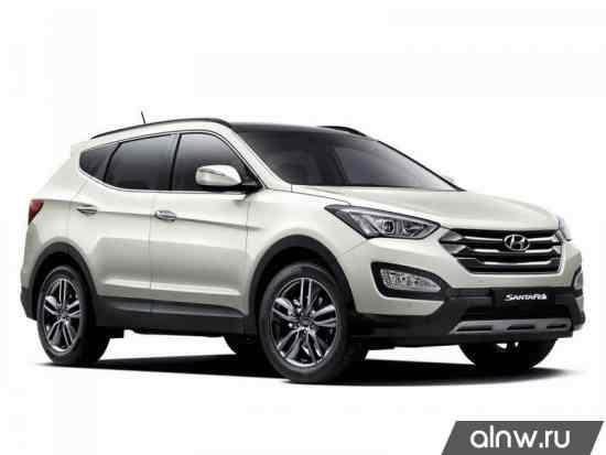 Каталог запасных частей Hyundai Santa Fe III Внедорожник 5 дв.