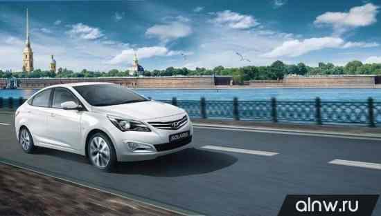 Hyundai Solaris I Рестайлинг Седан