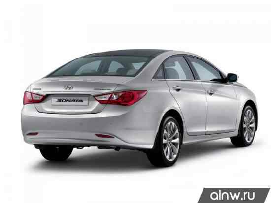 Каталог запасных частей Hyundai Sonata VI (YF) Седан