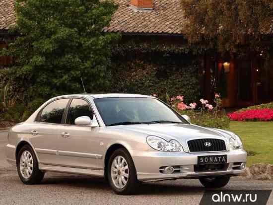 Hyundai Sonata IV (EF) Рестайлинг Седан