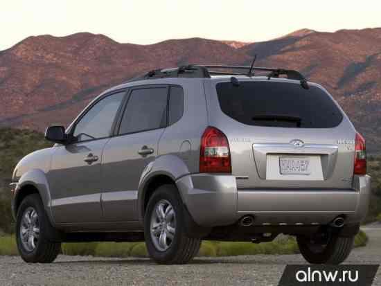 Каталог запасных частей Hyundai Tucson I Внедорожник 5 дв.