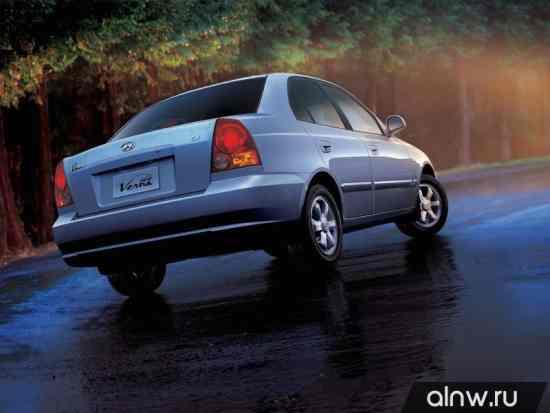 Каталог запасных частей Hyundai Verna II Седан
