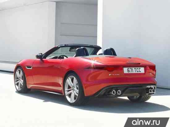 Каталог запасных частей Jaguar F-Type  Родстер