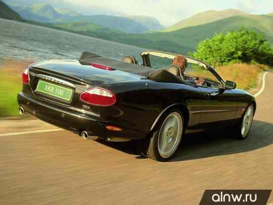 Каталог запасных частей Jaguar XK I Кабриолет