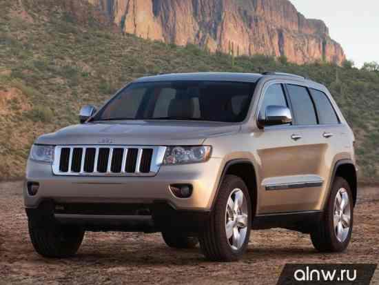Руководство по ремонту Jeep Grand Cherokee IV (WK2) Внедорожник 5 дв.