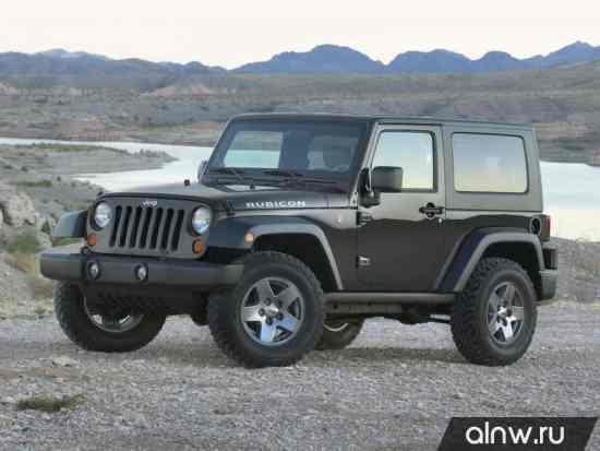 Jeep Wrangler III (JK) Внедорожник 3 дв.