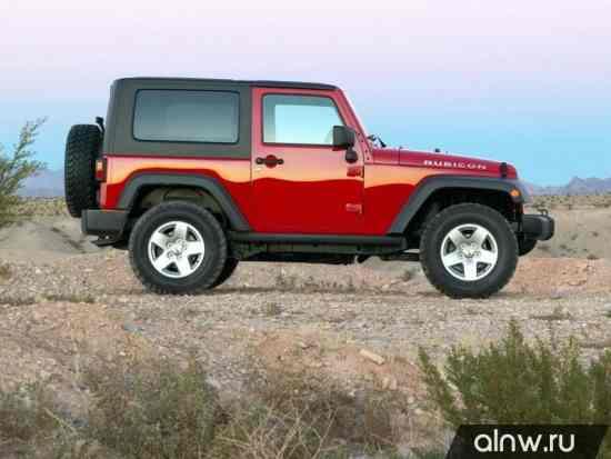 Каталог запасных частей Jeep Wrangler III (JK) Внедорожник 3 дв.