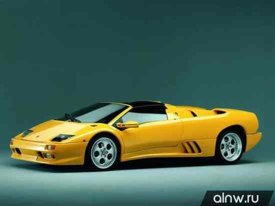Lamborghini Diablo  Родстер