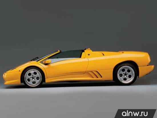 Каталог запасных частей Lamborghini Diablo  Родстер