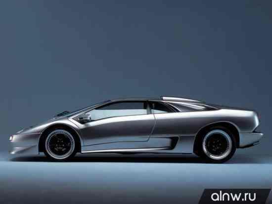 Каталог запасных частей Lamborghini Diablo  Купе