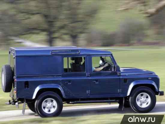 Программа диагностики Land Rover Defender  Внедорожник 5 дв.