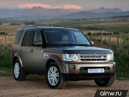Руководство по ремонту Land Rover Discovery IV Внедорожник 5 дв.