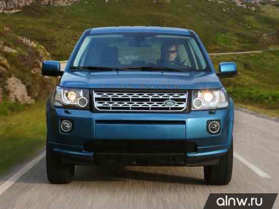 Инструкция по эксплуатации Land Rover Freelander II Рестайлинг 2 Внедорожник 5 дв.