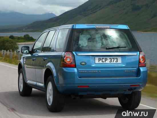 Программа диагностики Land Rover Freelander II Рестайлинг 2 Внедорожник 5 дв.