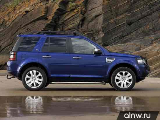 Каталог запасных частей Land Rover Freelander II Внедорожник 5 дв.