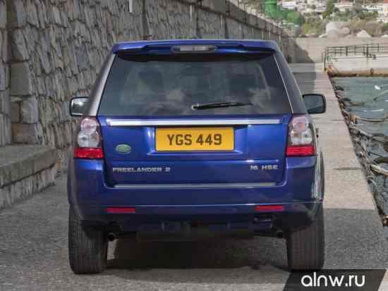 Программа диагностики Land Rover Freelander II Внедорожник 5 дв.