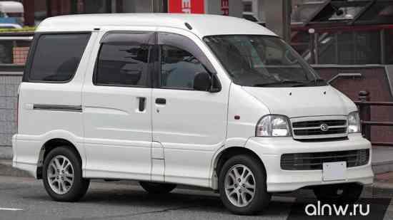 Инструкция по эксплуатации Daihatsu Atrai
