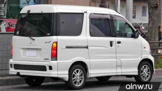 Каталог запасных частей Daihatsu Atrai