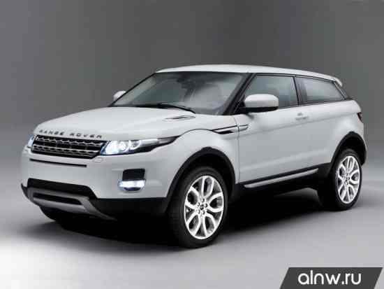 Каталог запасных частей Land Rover Range Rover Evoque  Внедорожник 3 дв.