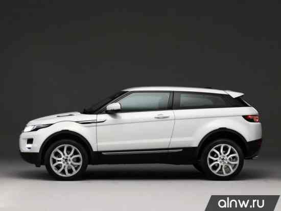 Программа диагностики Land Rover Range Rover Evoque  Внедорожник 3 дв.