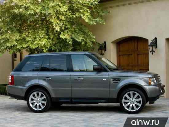 Программа диагностики Land Rover Range Rover Sport I Рестайлинг Внедорожник 5 дв.