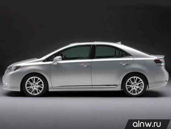 Каталог запасных частей Lexus HS I Седан