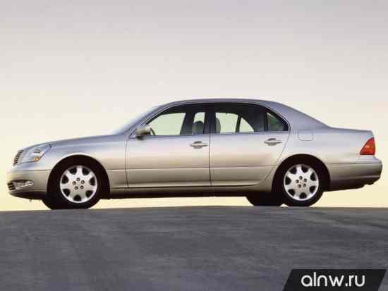 Каталог запасных частей Lexus LS III Седан