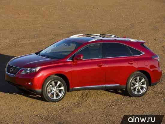 Каталог запасных частей Lexus RX III Внедорожник 5 дв.