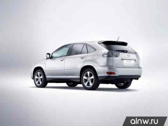 Программа диагностики Lexus RX II Внедорожник 5 дв.