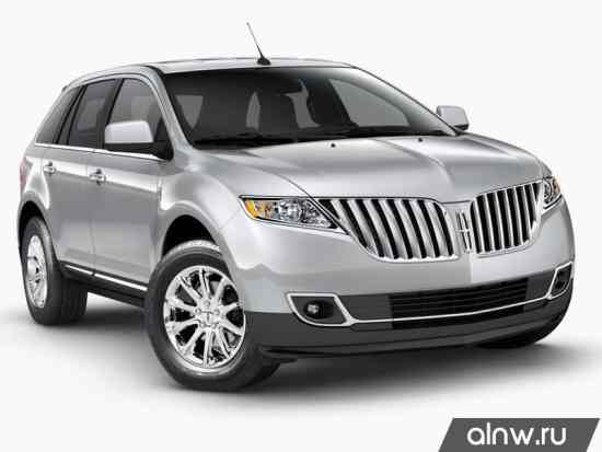 Lincoln MKX I Рестайлинг Внедорожник 5 дв.