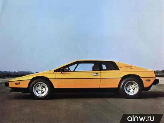 Каталог запасных частей Lotus Esprit II Купе