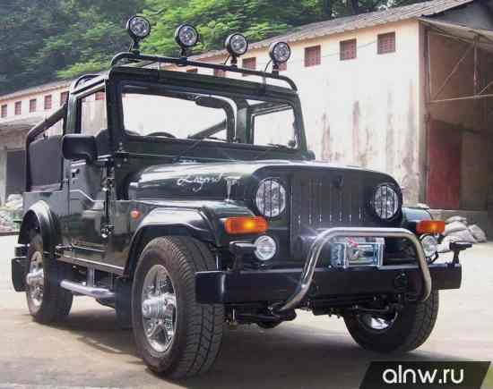 Каталог запасных частей Mahindra MM  Внедорожник открытый