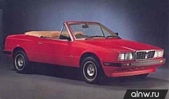 Каталог запасных частей Maserati Biturbo  Кабриолет