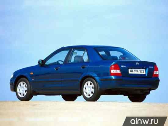 Каталог запасных частей Mazda 323 VI (BJ) Седан