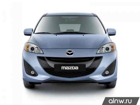 Инструкция по эксплуатации Mazda 5 II (CW) Компактвэн