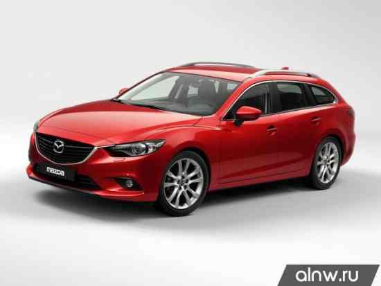 Руководство по ремонту Mazda 6 III Универсал 5 дв.
