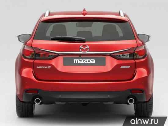 Программа диагностики Mazda 6 III Универсал 5 дв.