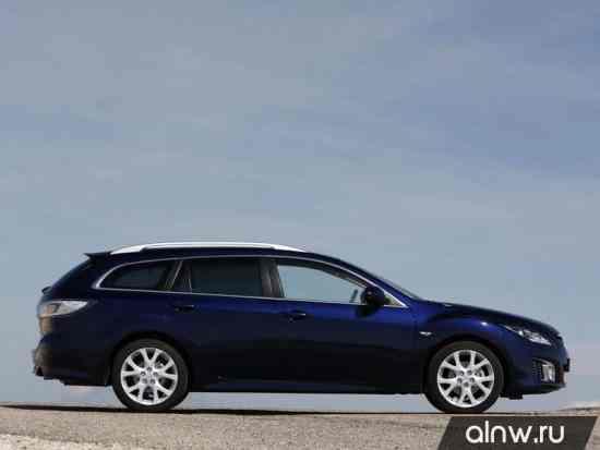 Каталог запасных частей Mazda 6 II (GH) Универсал 5 дв.