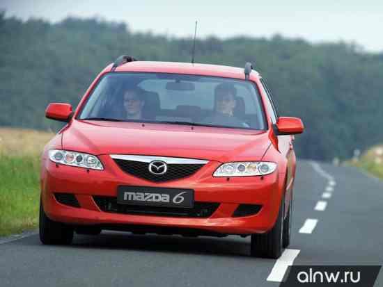 Инструкция по эксплуатации Mazda 6 I (GG) Универсал 5 дв.