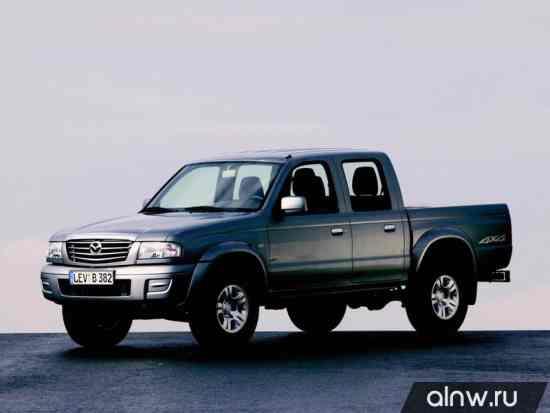 Руководство по ремонту Mazda B-series V Пикап Двойная кабина