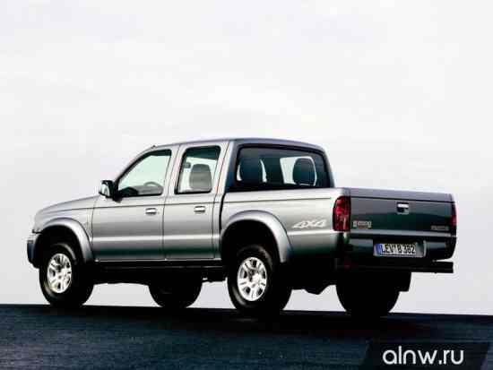 Каталог запасных частей Mazda B-series V Пикап Двойная кабина