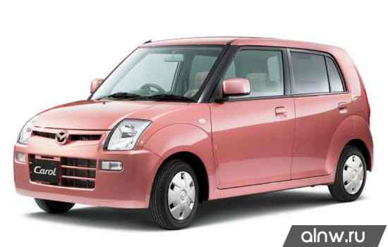 Руководство по ремонту Mazda Carol V Хэтчбек 5 дв.
