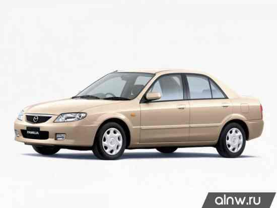Руководство по ремонту Mazda Familia VIII (BJ) Седан